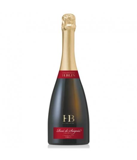Champagne Rosé de Saignée - H.BLIN