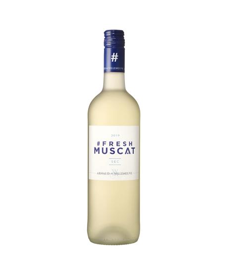 Vin Muscat Sec Fresh - ARNAUD DE VILLENEUVE
