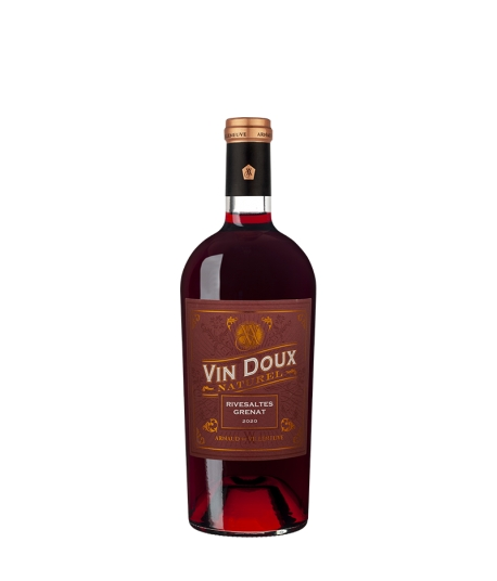 Vin Rivesaltes Grenat Tradition - ARNAUD DE VILLENEUVE