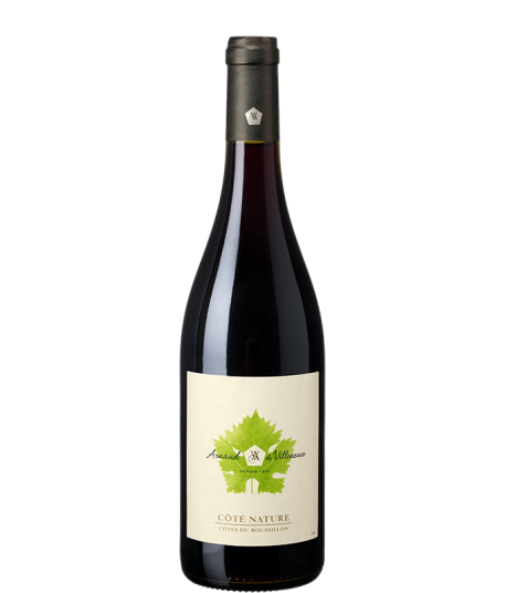 Vin Côté Nature Rouge BIO - ARNAUD DE VILLENEUVE