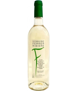Vin Cuvée F Blanc - Domaine Ferrer Ribiere