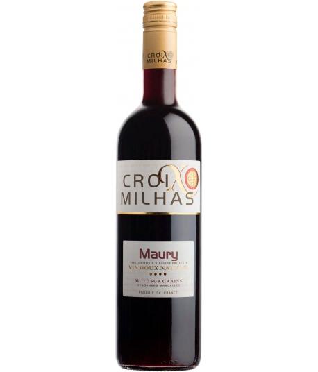 Vin Croix Milhas Maury Grenat - VIGNERONS CATALANS