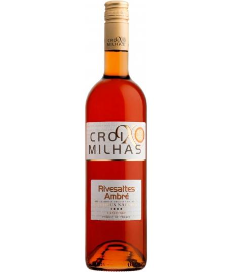 Vin Croix Milhas Rivesaltes Ambré - VIGNERONS CATALANS