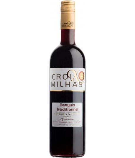 Vin Croix Milhas Banyuls Traditionnel - VIGNERONS CATALANS