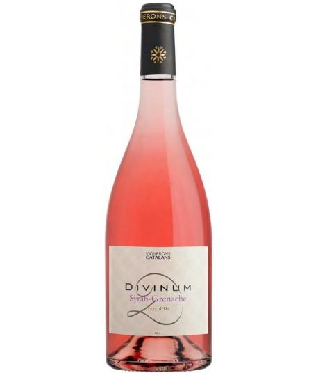 Vin Divinum Syrah Grenache Rosé - VIGNERONS CATALANS