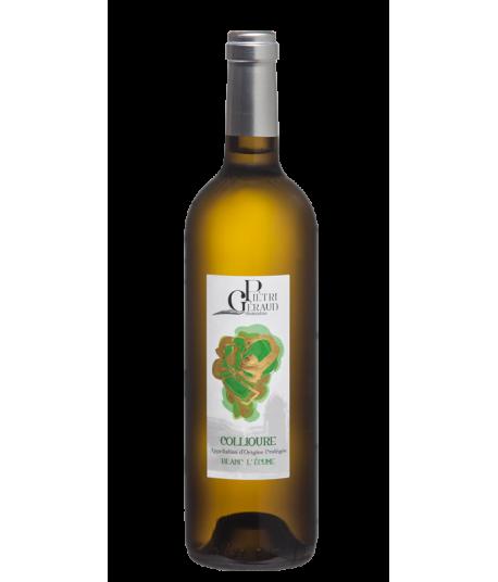 Vin Collioure Blanc - Domaine Piétri Géraud