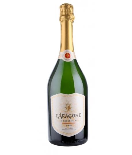 Vin Crémant brut prémium L'Aragone  - Terrassous