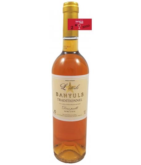 Vin Banyuls Grand Cru Doux Paillé - Banyuls L'Etoile