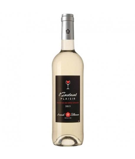 Vin instant Plaisir Blanc - ARNAUD DE VILLENEUVE