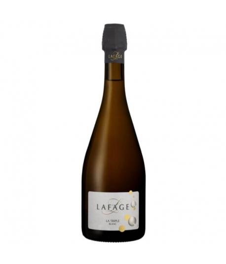 Vin Effervescent La Triple Blanc- Domaine LAFAGE